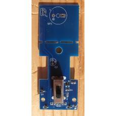 Электронный выключатель питания, с защитой от переполюсовки